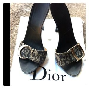 Dior Shoes - REDUCED! Authentic Dior Blue Heels