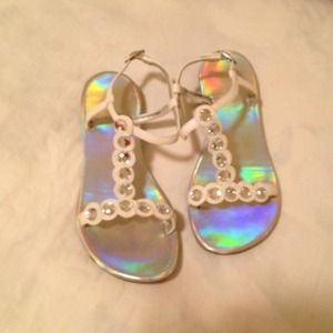 Kenneth Cole Shoes - Girl's GLAM Sandals!