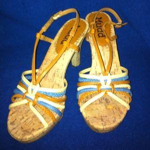 Shoes - Mudd Cork Sandals