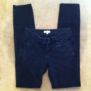 bebe Denim - Ph8 by Bebe faded black jeans
