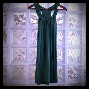 Splendid Dresses & Skirts - Splendid Green tank dress