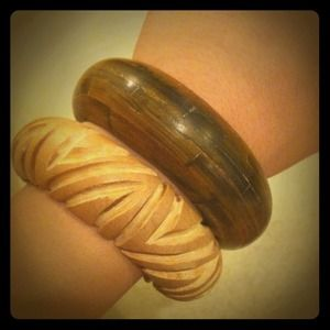 Jewelry - Wooden bangles