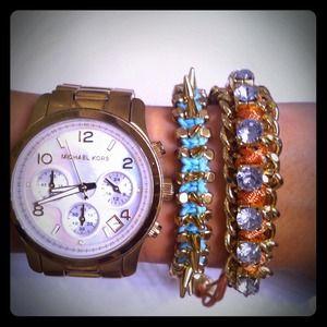 Jewelry - RESERVED! 🙅Orange Arm Candy!