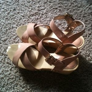 GAP Shoes - Reserved for @kenzibray Gap Strappy Wedges