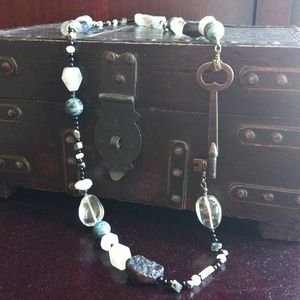 WareHaus Jewelry - Final Price! Handmade Vintage Key Necklace