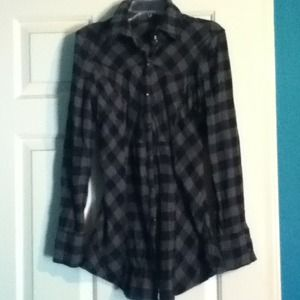 Tops - END Plaid shirt