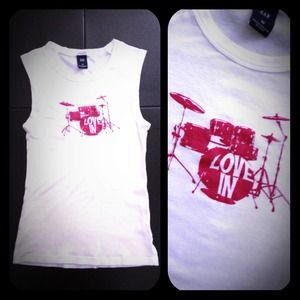 "GAP Tops - GAP ""Drums"" Tank Top"