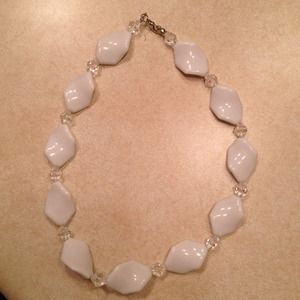 Jewelry - White Necklace set