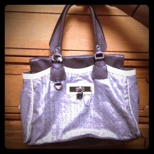 Silver Marc Jacobs Tote Bag REDUCED!!!!
