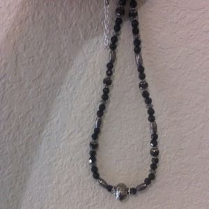 Jewelry - Handmade black bead set