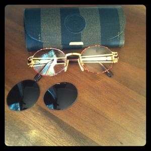 FENDI Accessories - Fendi frames with readers and sunglass lenses
