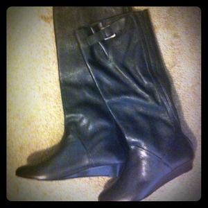 New Kathy Jean leather boots!!