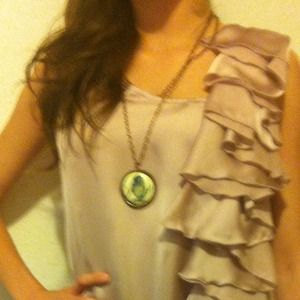 Dresses - Soft pink ruffle Party dress!!