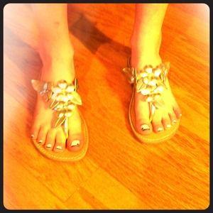 Kids  flip flops size 2 worn once