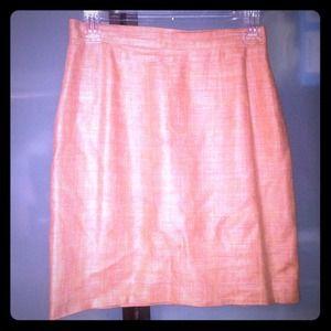 Reed peach skirt