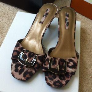 Bandolino Shoes - Bandolino cheetah print sandal