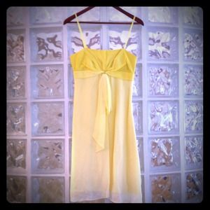 BCBGMaxAzria Dresses & Skirts - NWT BCBG Yellow Ombré dress