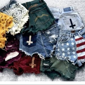 Tons of custom shorts