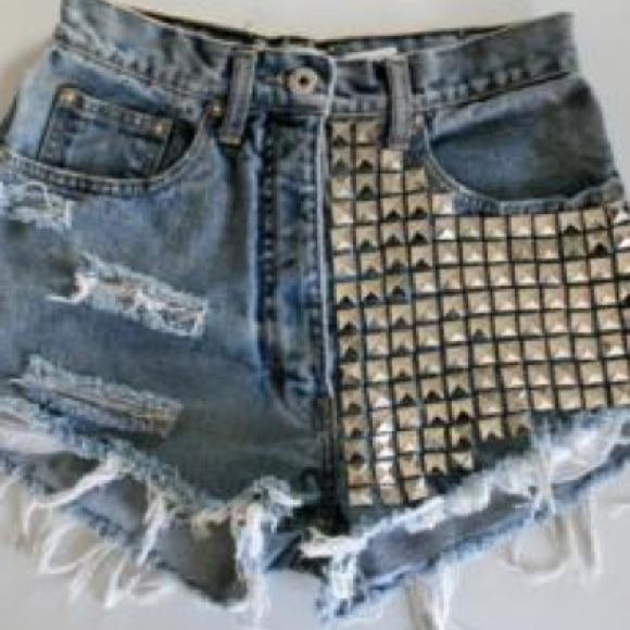 Stud shorts!!