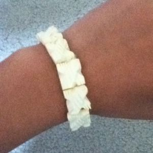 Jewelry - Spiky white bone bracelet! brand new!