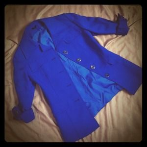 Jackets & Blazers - Electric blue blazer - Vintage