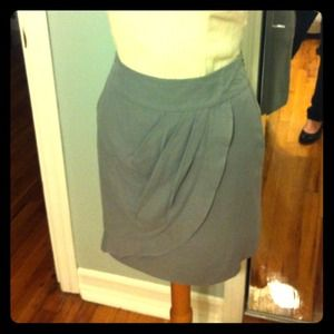 Grey Ann Taylor Loft Skirt