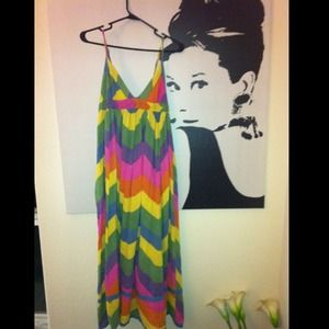 Dresses & Skirts - Colorful Maxi Dress