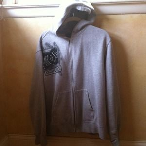 DC Jackets & Blazers - Awesome!! DC gray Zip hoodie
