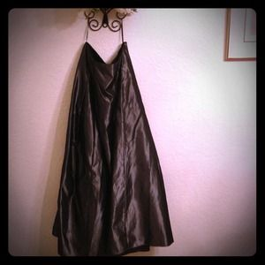 Dresses & Skirts - Pewter gray evening gown skirt