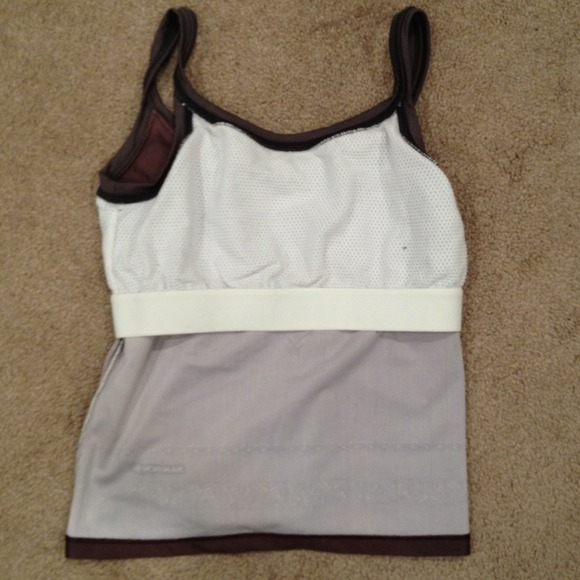 Yoga Tank With Built In Shelf Bra From C's