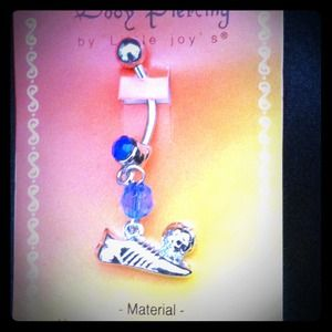 Jewelry - New! Soccer belly ring