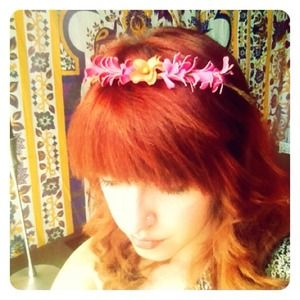 Bohemian Floral HAIR CROWN