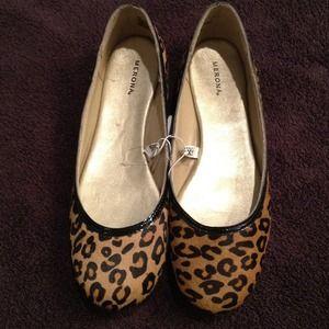 Shoes - Cute Leopard Print Flats