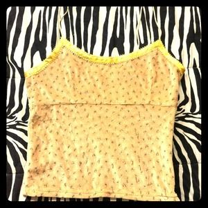 Voyage Tops - VOYAGE antique tank top size Small!