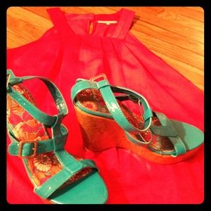 Roxy Shoes - Beautiful Turquoise sandal