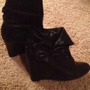 Bamboo Shoes - Just reduced! Cute black booties