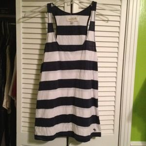 Abercrombie & Fitch Tops - Abercrombie Navy Striped tank