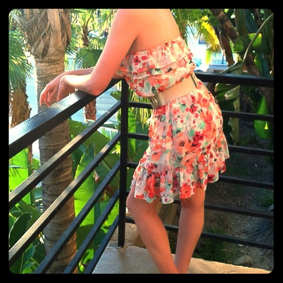 H&M floral summer dress