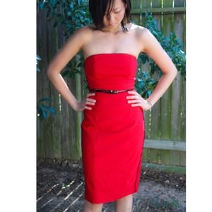 Express Dresses & Skirts - SOLD! red hot strapless dress