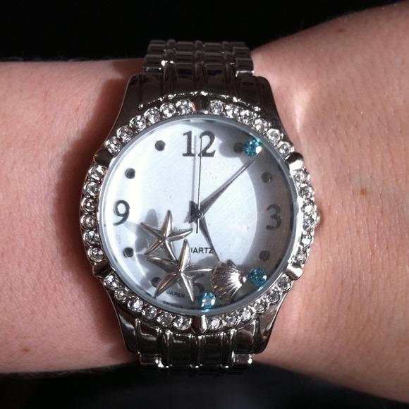 Avon Jewelry Starfish And Seashell Watch Poshmark