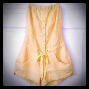 "Guess Dresses & Skirts - 💢Reserved!!💢✨""Happy Yellow"" GUESS Romper"
