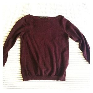 Dark purple Zara sweater
