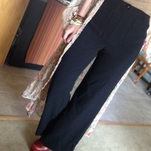 CHANEL Pants - @iluv_deals only - Chanel Wool Black Pants
