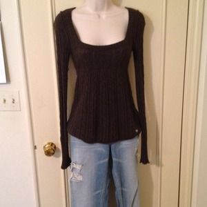 Abercrombie & Fitch Tops - Sold jonijacAbercrombie small, brown baby doll f