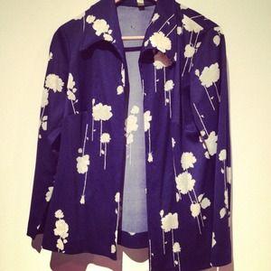 Jackets & Blazers - ❌SOLD❌ Vintage floral open blazer