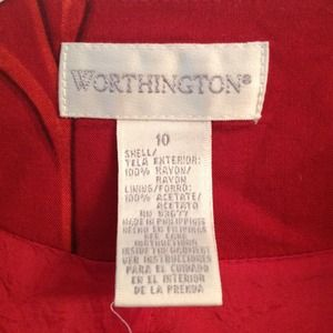 Worthington Dresses - Nice dress w/shrug, light floral hints