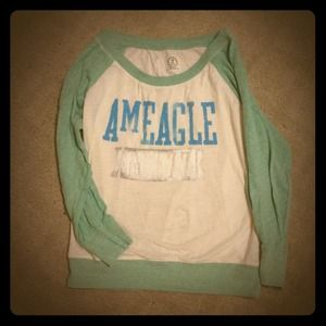 American Eagle Outfitters pastel Long sleeve shirt