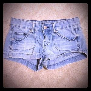 Pants - Light wash denim Jean shorts