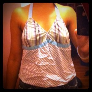 🌸cotton and jersey halter