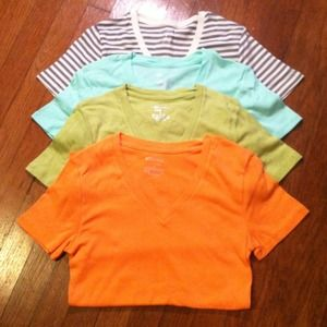 Tops - NWT Cotton tee bundle